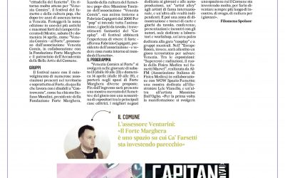 I fumetti al Forte – Il Gazzettino 13.03.2019